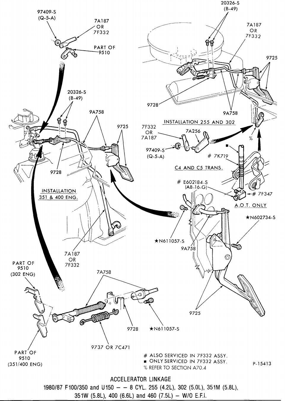 help  edelbrock 1406  throttle linkage