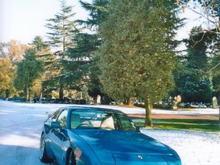 Porsche 944 winter