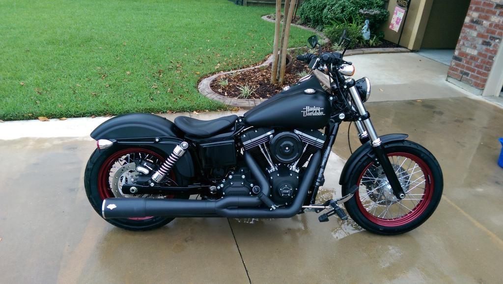 Street Bob's With Drag Bars - Harley Davidson Forums  Harley