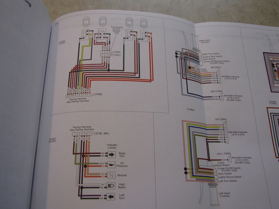 Harley Indicator Wiring Diagram : Wiring diagram road king harley davidson forums