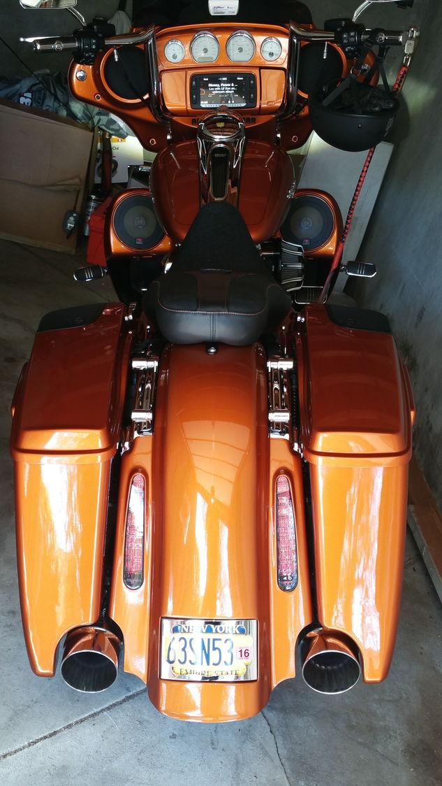 Topshop Minister Rear Fender With Cvo Lights Harley
