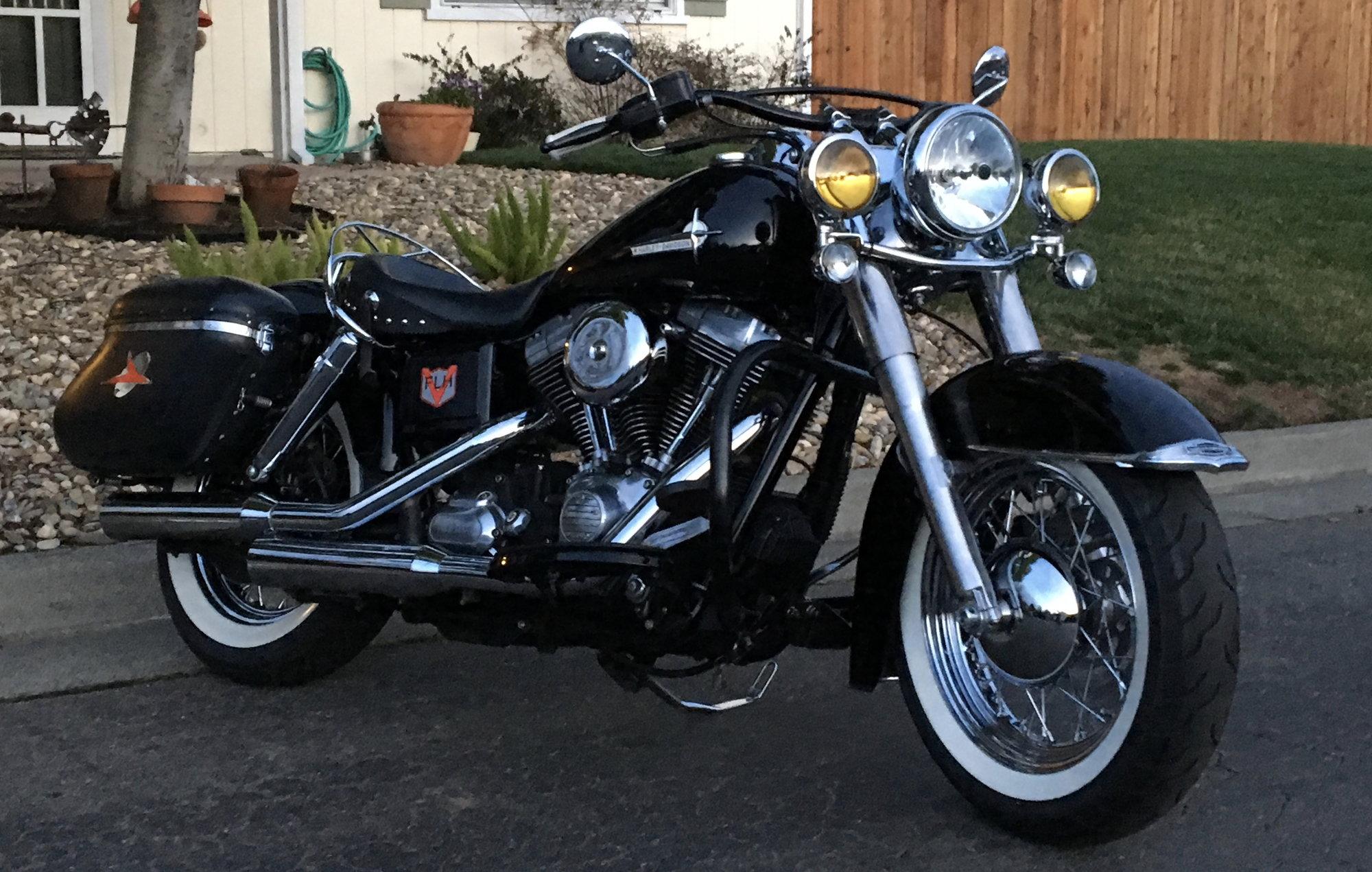 FLS front end on sportster - Harley Davidson Forums