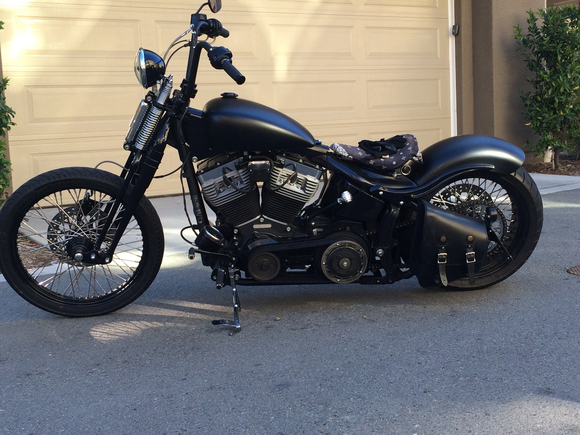 Softail Custom Front End