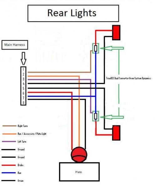 Trike Brake Light Wiring Diagram - Wiring Diagram •