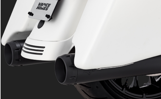 Black exhaust options - Road King Special - Harley Davidson
