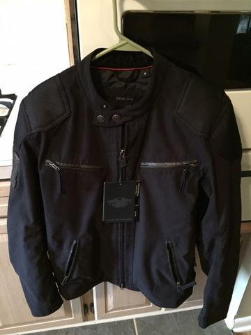 harley davidson raven textile jacket 98553 14vm medium. Black Bedroom Furniture Sets. Home Design Ideas