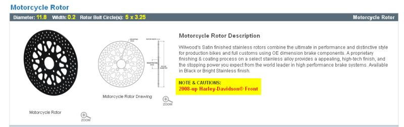 2016 Iron XL883 Front and Rear Rotor Specs - Harley Davidson Forums