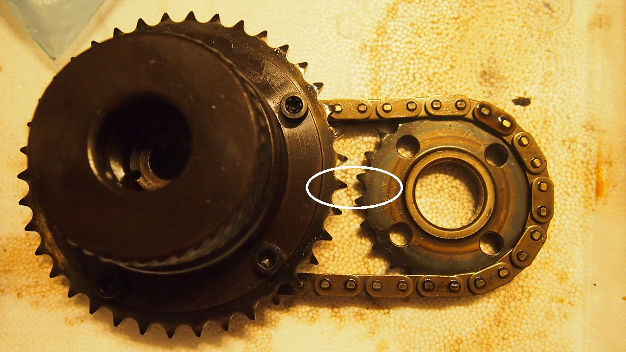 Advice For Timing Chain Replace - 1  2 Tooth Vvt Unit And Exhaust Camshaft Sprocket
