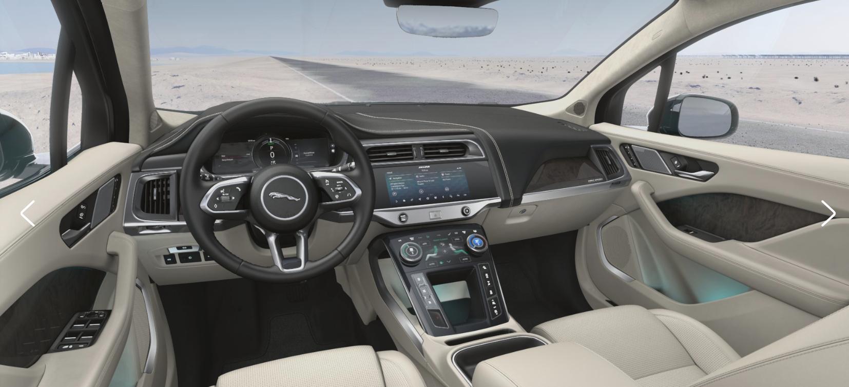 Interior Photos of Jaguar I-Pace First Edition - Jaguar ...