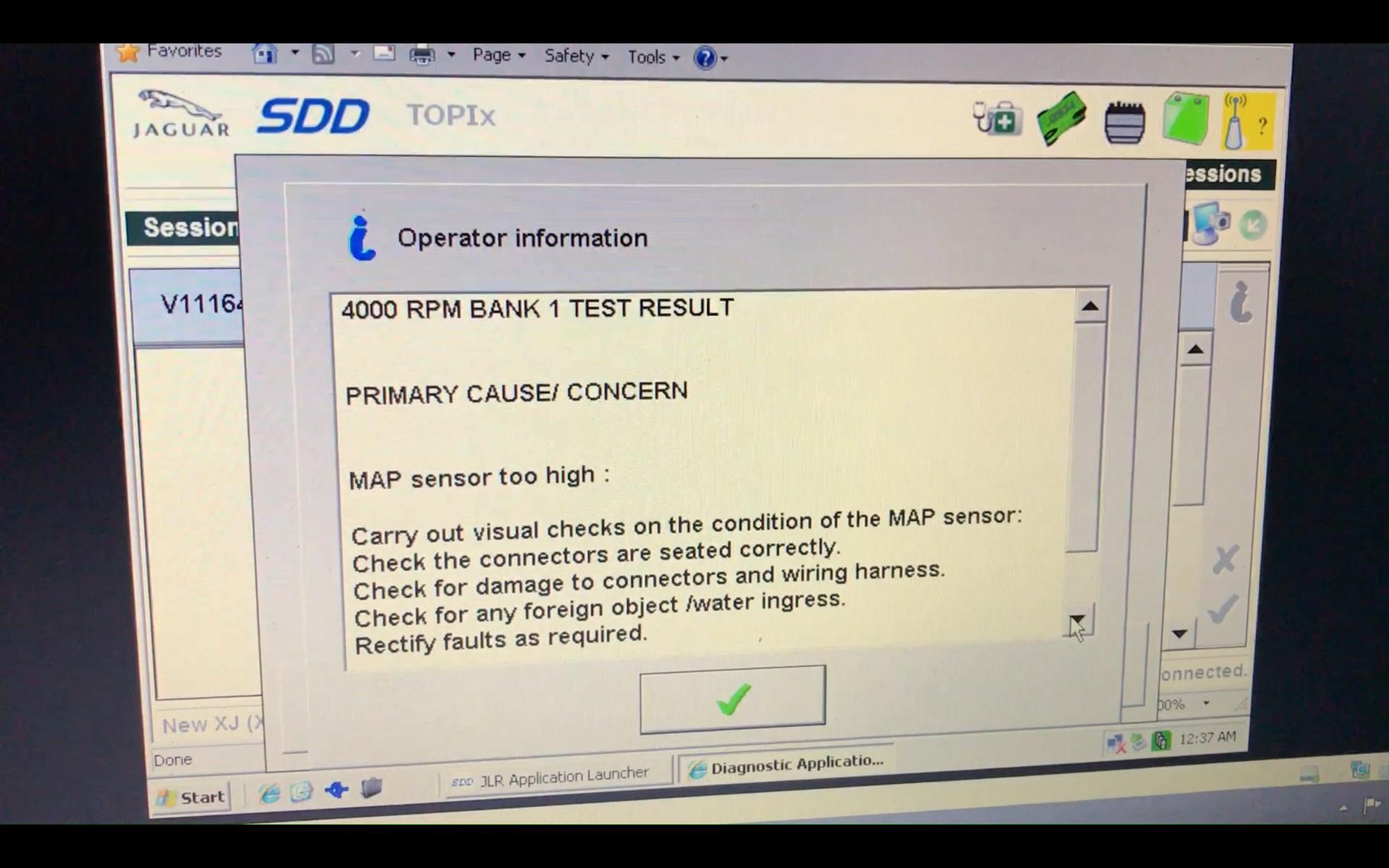 XJ 2010 3 0D strange sound and MAF sensor problem? - Jaguar Forums
