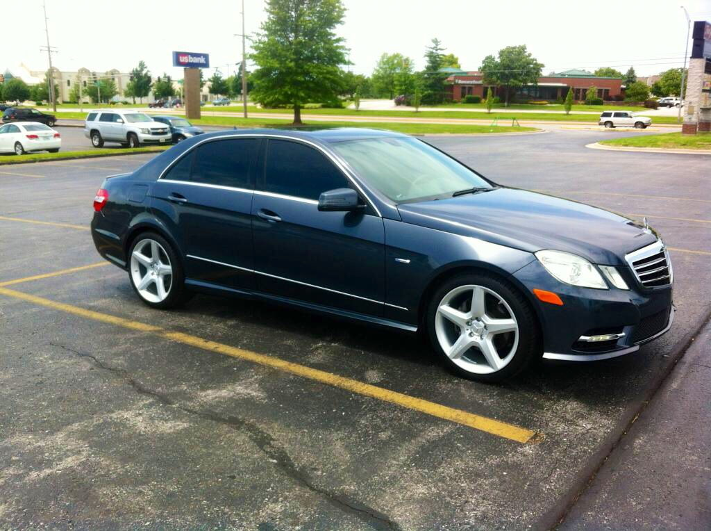 S63 20 Quot Amg Wheels On A 10 11 E350 Mbworld Org Forums