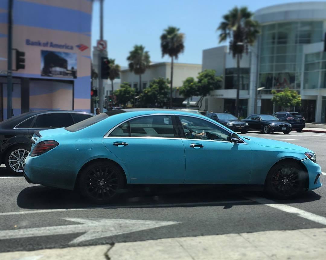 Tiffany blue mercedes benz s63 amg w222 forums for Blue mercedes benz