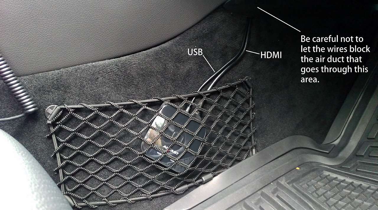 2016 C300 Aftermarket Rear View Camera Diy Install Forums Backup Wiring Diagram For 07 Acura Mdx Not Shown Is The Front I Connected Wires On Hd Link But Have Yet Routed Wire To Of Car
