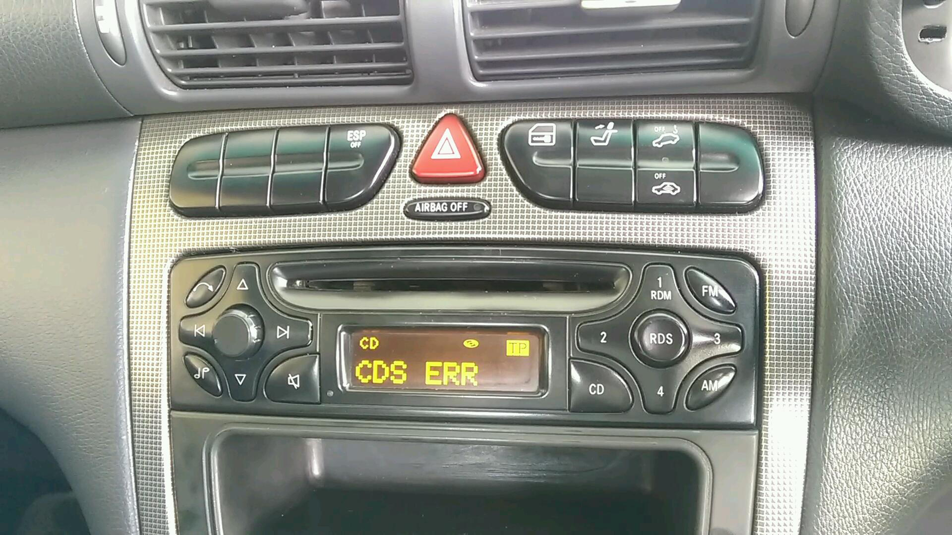 mercedes w203 cds err on audio 10 stereo - MBWorld org Forums