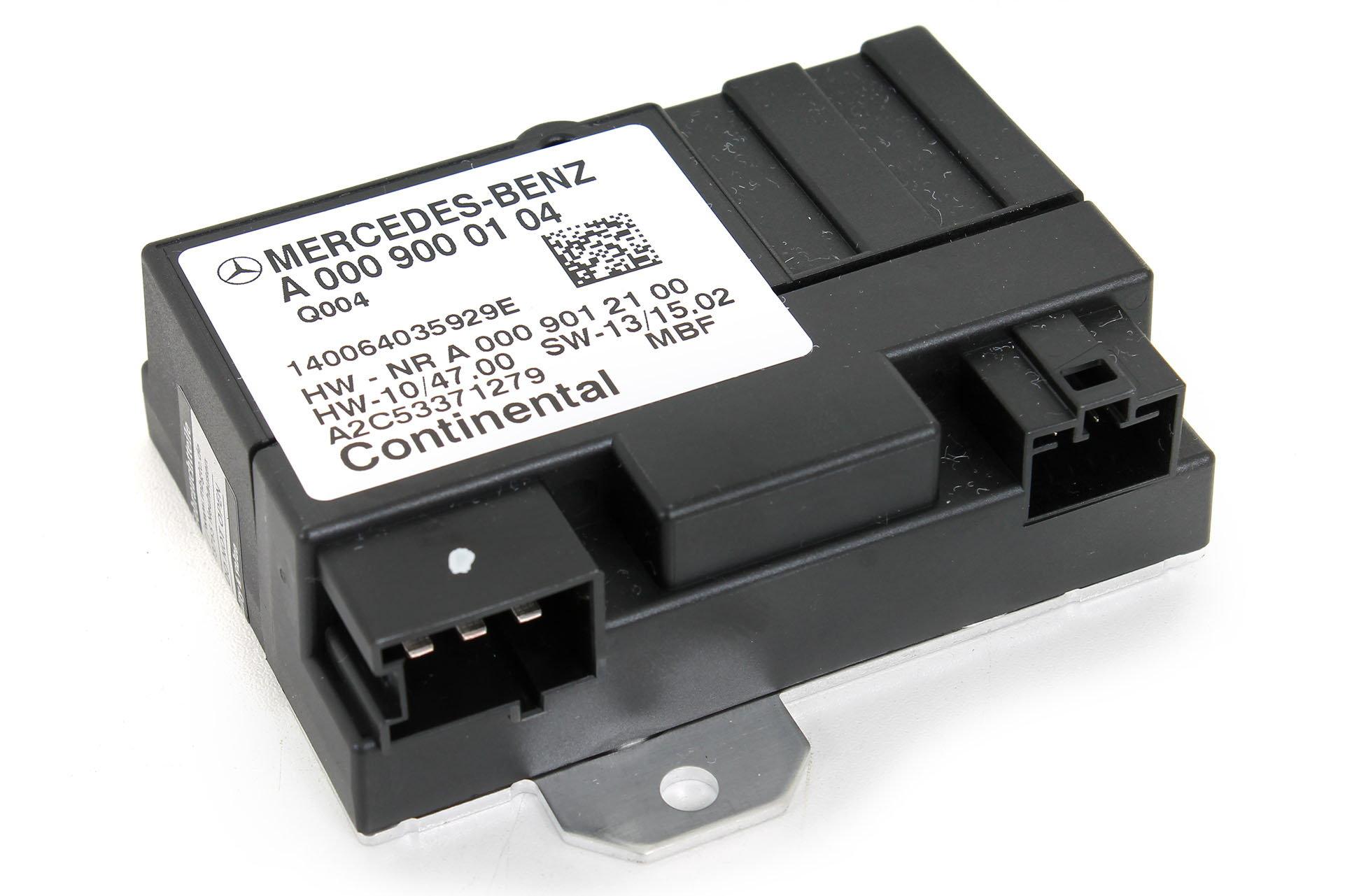 HELP: Fuel Pump Control Module Unit A0009000104 - MBWorld org Forums