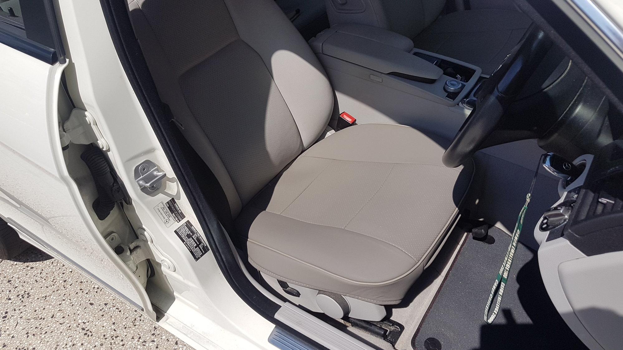 Driver seat cracking - MBWorld org Forums
