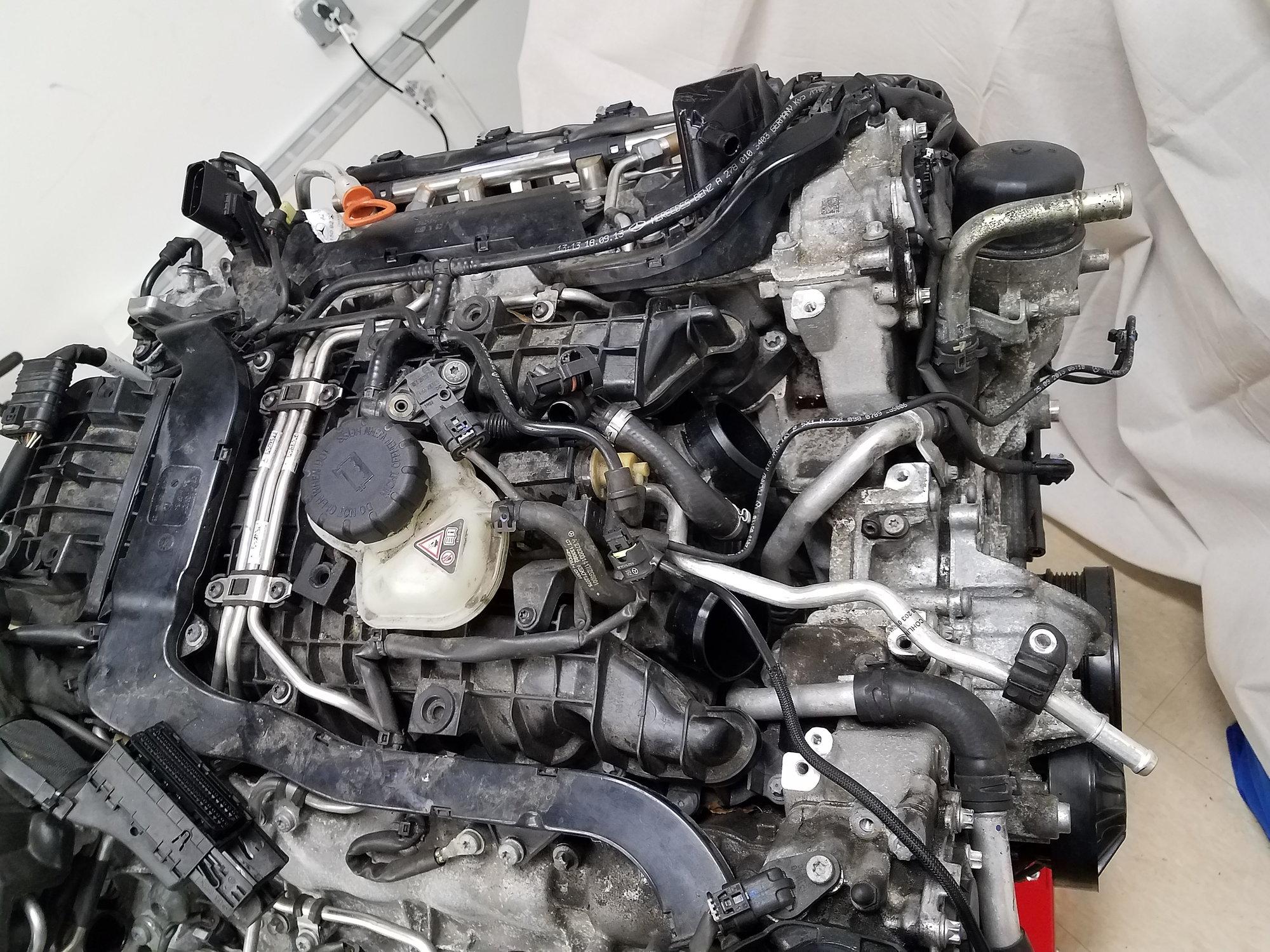 2014 M278 Engine, accessories