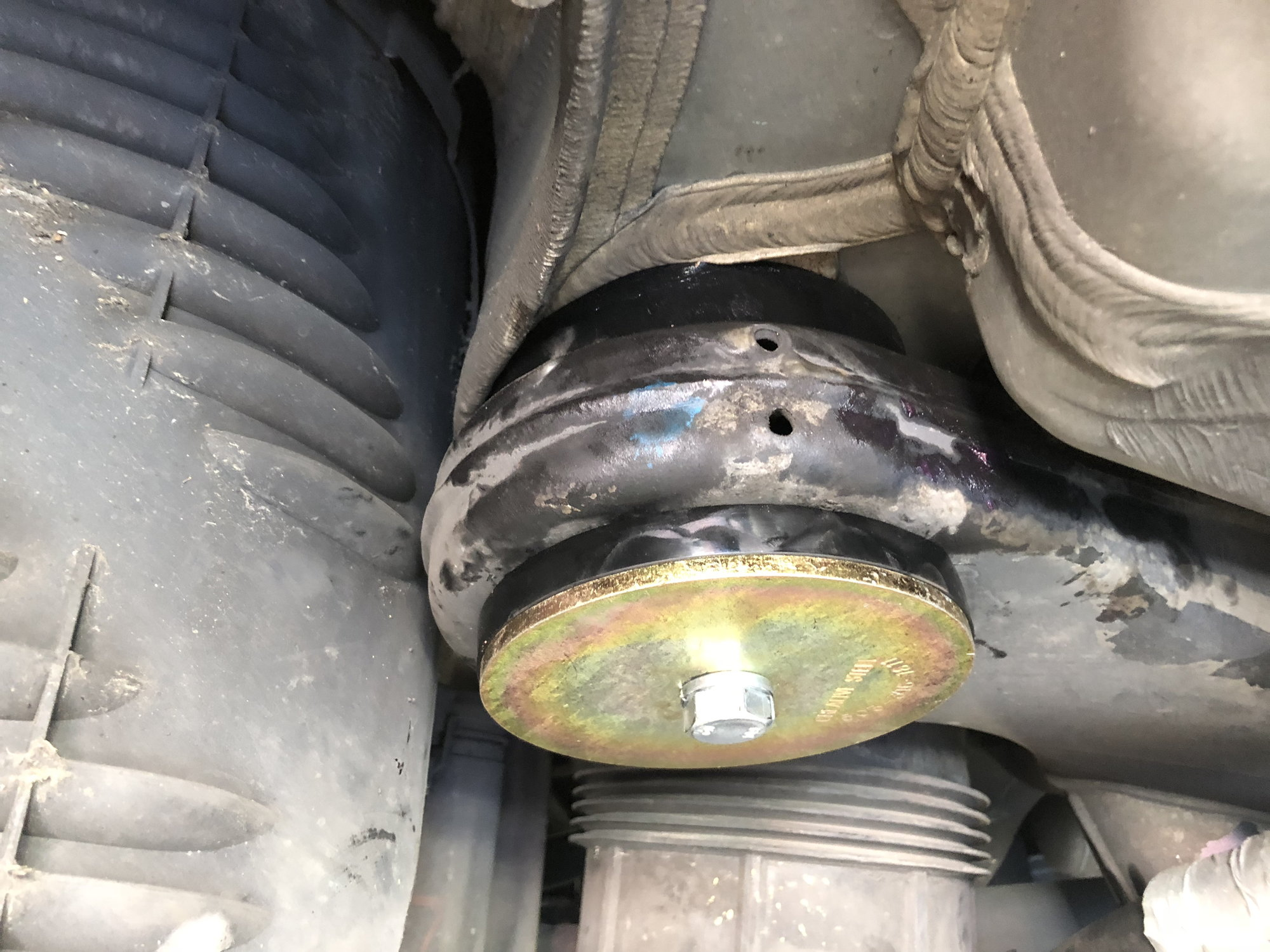 Rear differential mount bushings - MBWorld org Forums