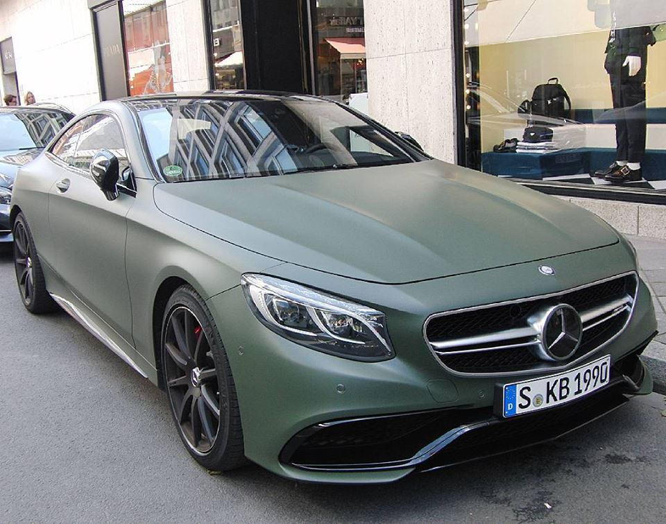 Matte Green Mercedes Benz S63 Amg Coupe Forums