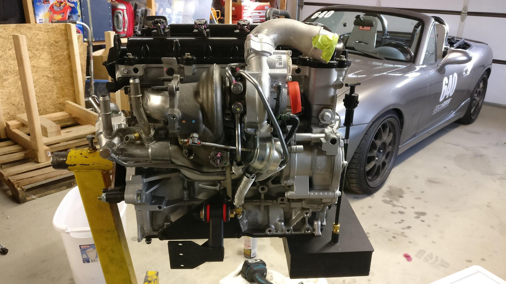 nigelt gets bored and adds displacement (ecotec turbo build) - Miata