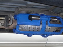 CATALYTIC CONVERTER SECURITY CAGE