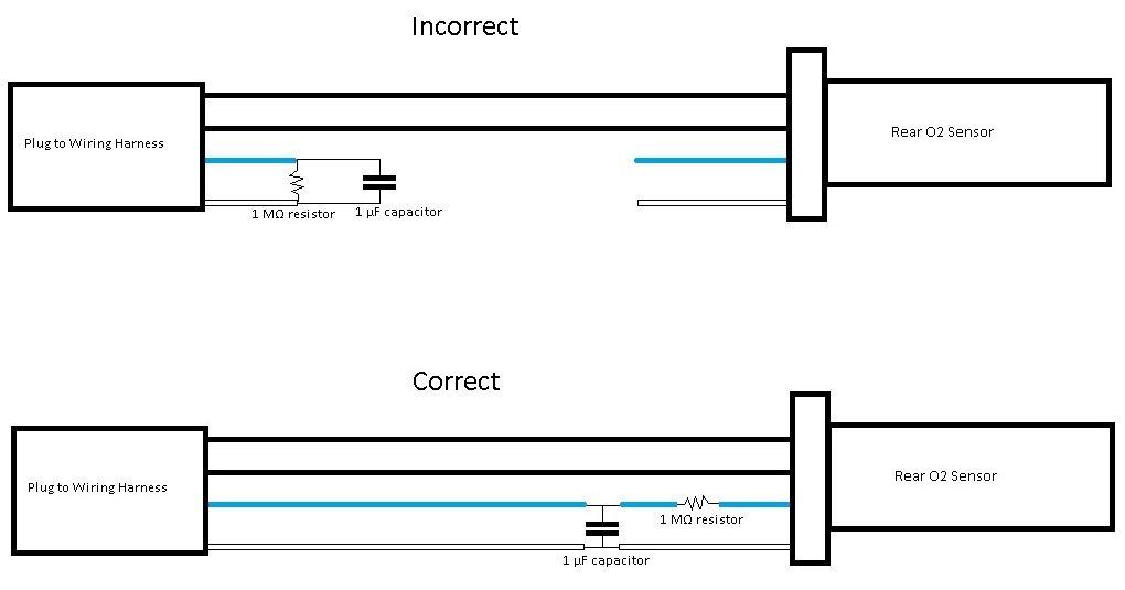 Drivetrain Proven Decat O2 Sensor Fix