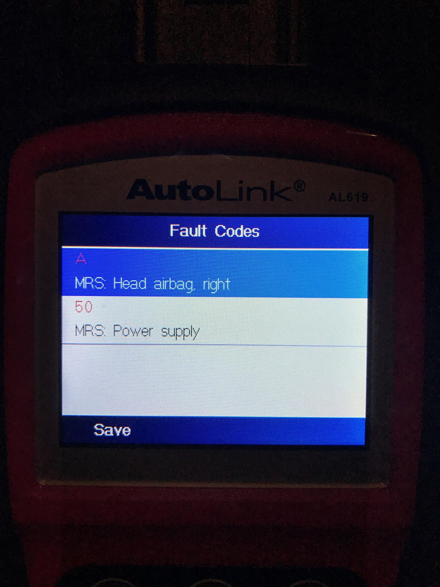 Reset airbag warning light? - North American Motoring