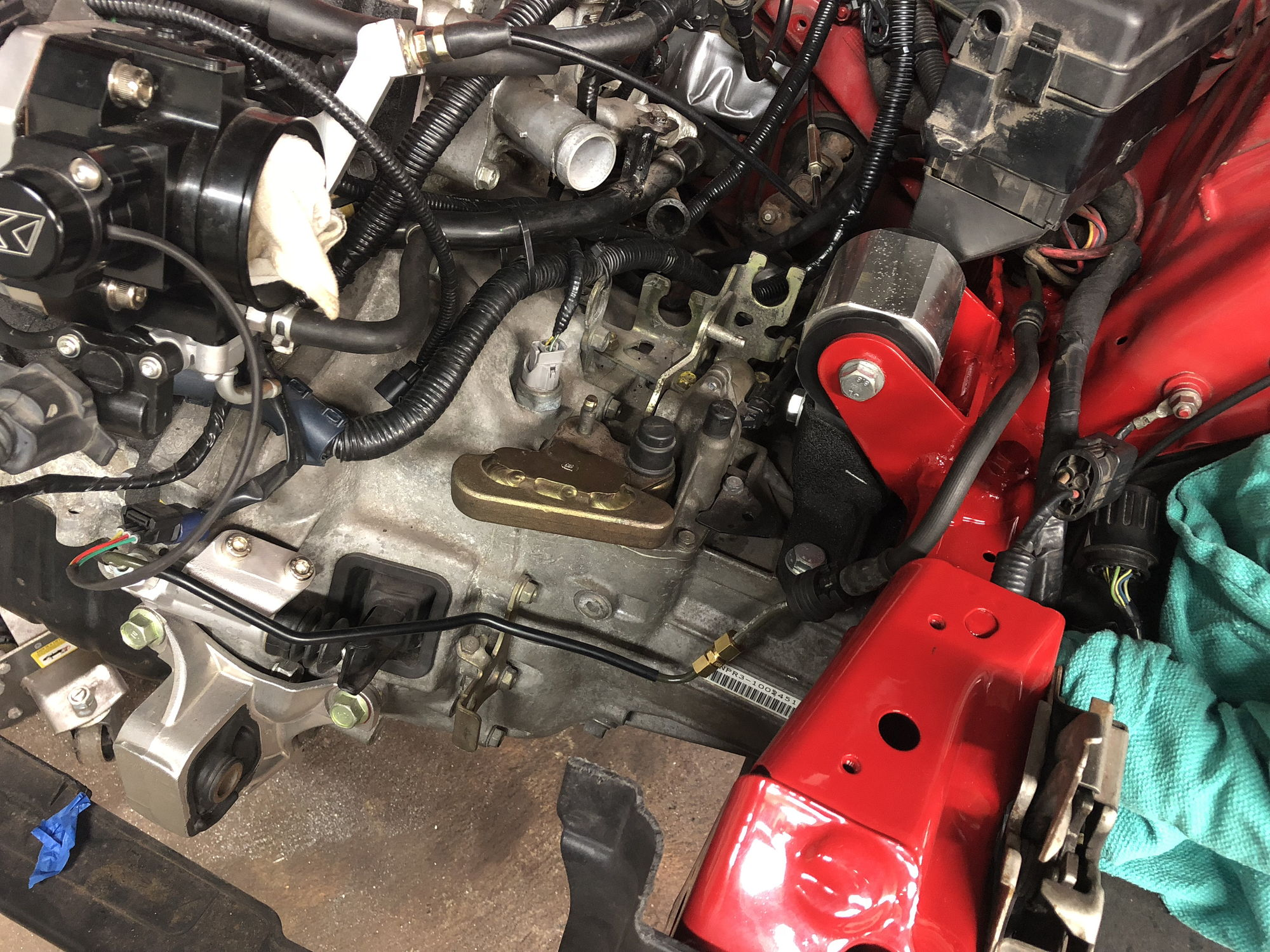 K24 Swap Into R53 North American Motoring Vtec K Series Wiring Harness For Mini Conversion Honda Hard Line