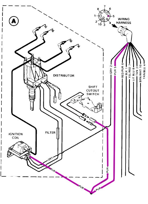 Delco Ignition System Wiring - Offshoreonly.com | Voyager Boat Wiring Diagram |  | Offshoreonly.com