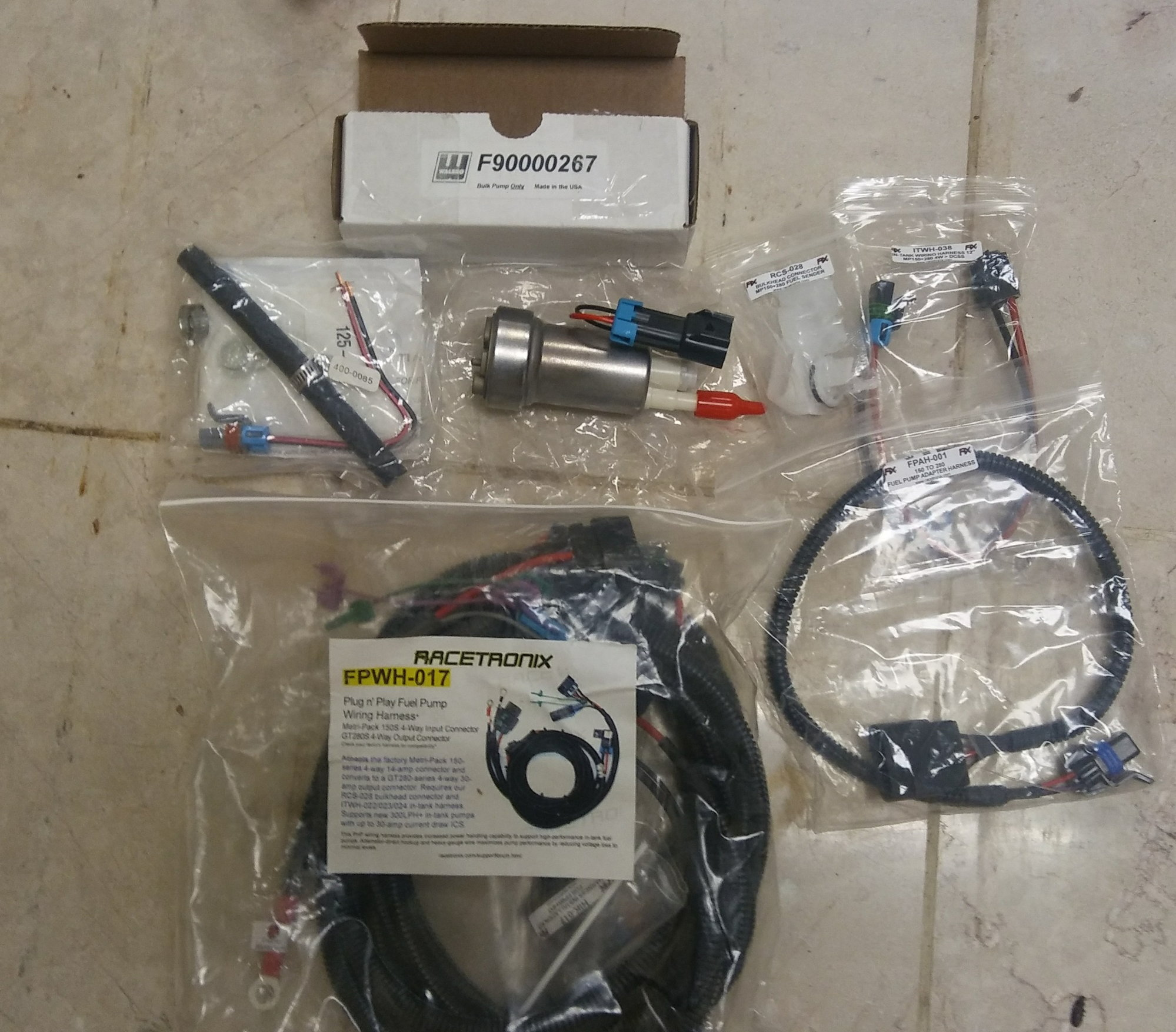 Racetronix Fuel Pump Wire Harness  Denso Fuel Pump, K&n Fuel