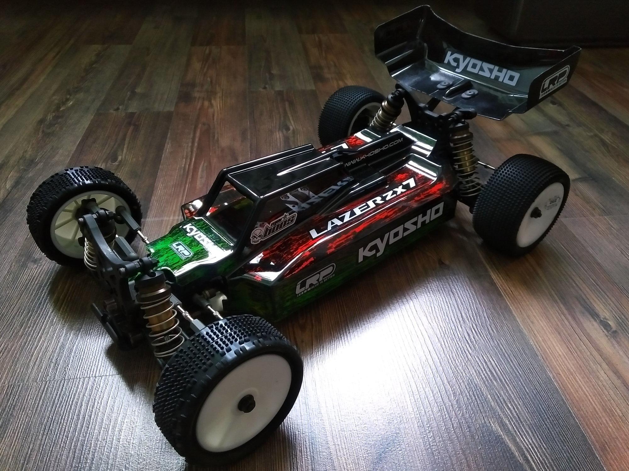 Kyosho Lazer ZX7 Thread - R/C Tech Forums