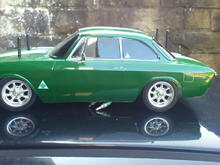 GTA with Mini Monte Carlo wheels  side view