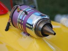 jet engine on model