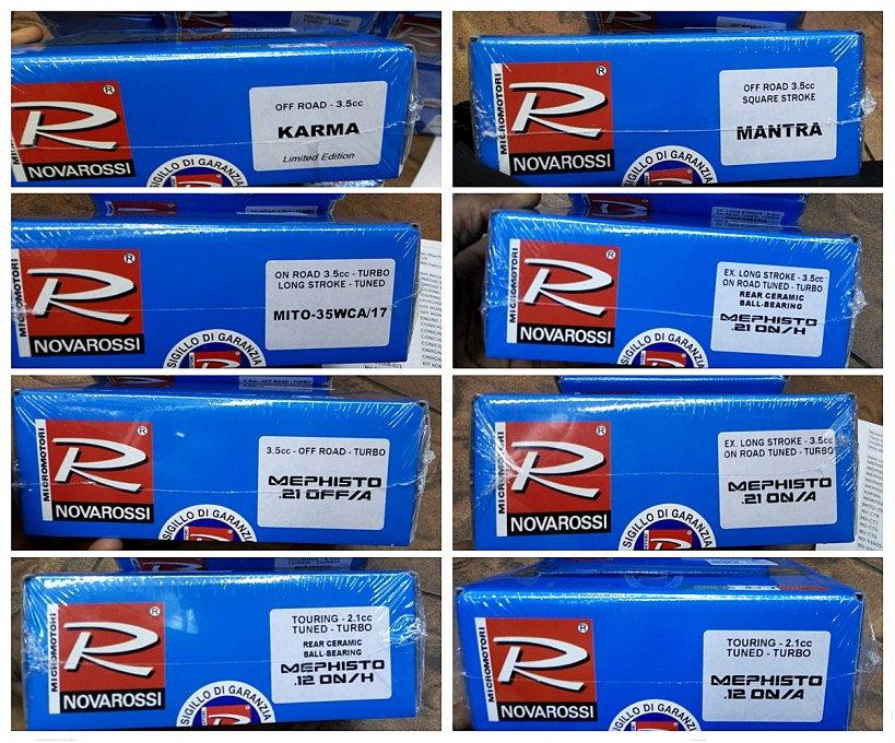 Novarossi Engine New Arrival (New items & Restock items) - R