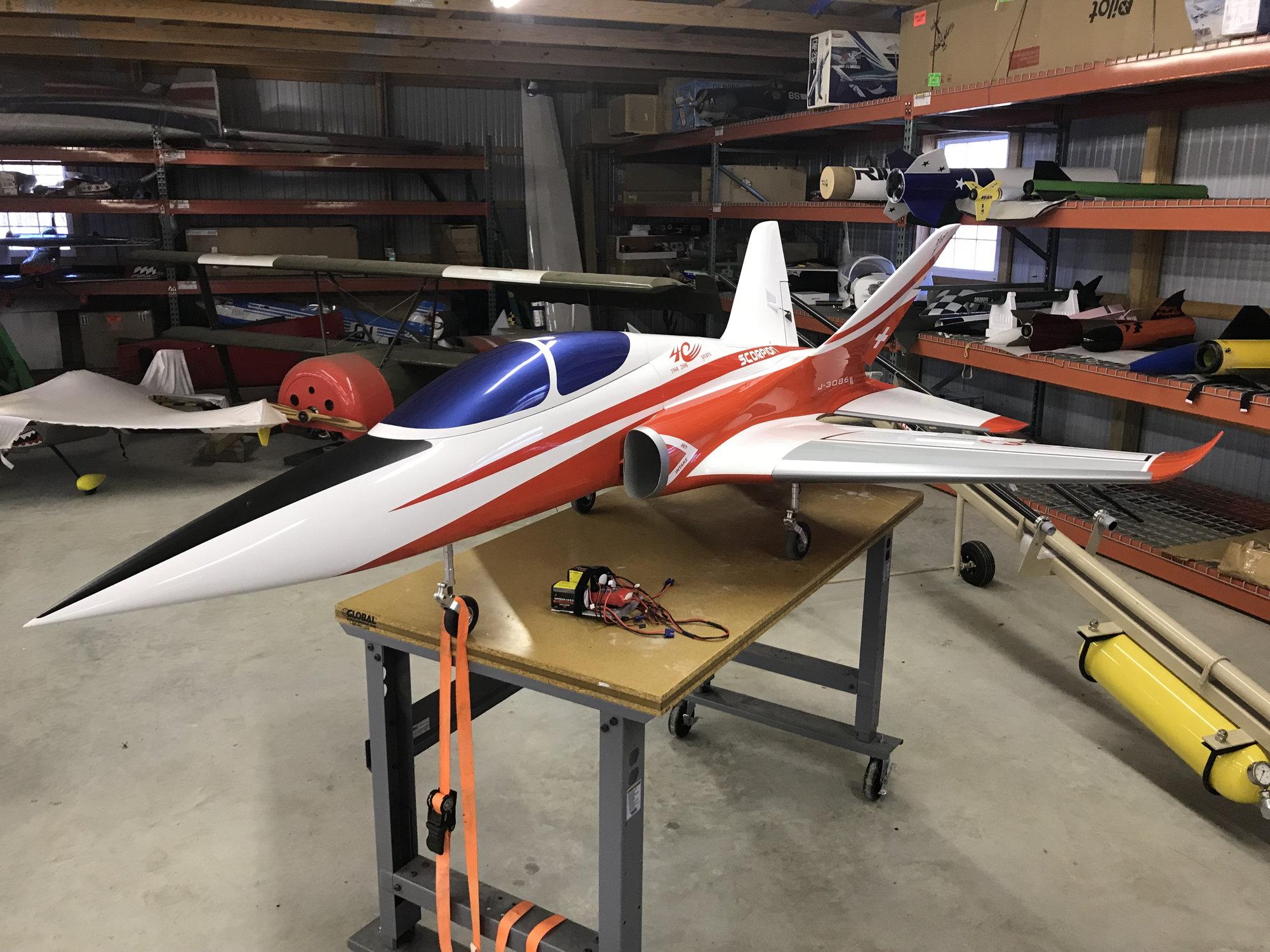 Aviation Design Super Scorpion Nearly New - RCU Forums