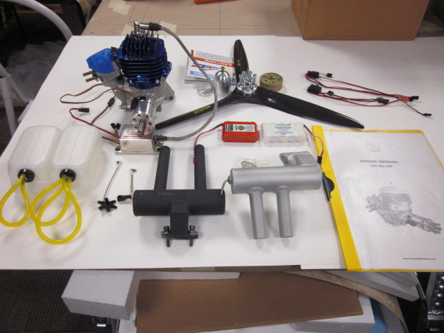 For sale 3W 55i US gas engine and accessories  - RCU Forums