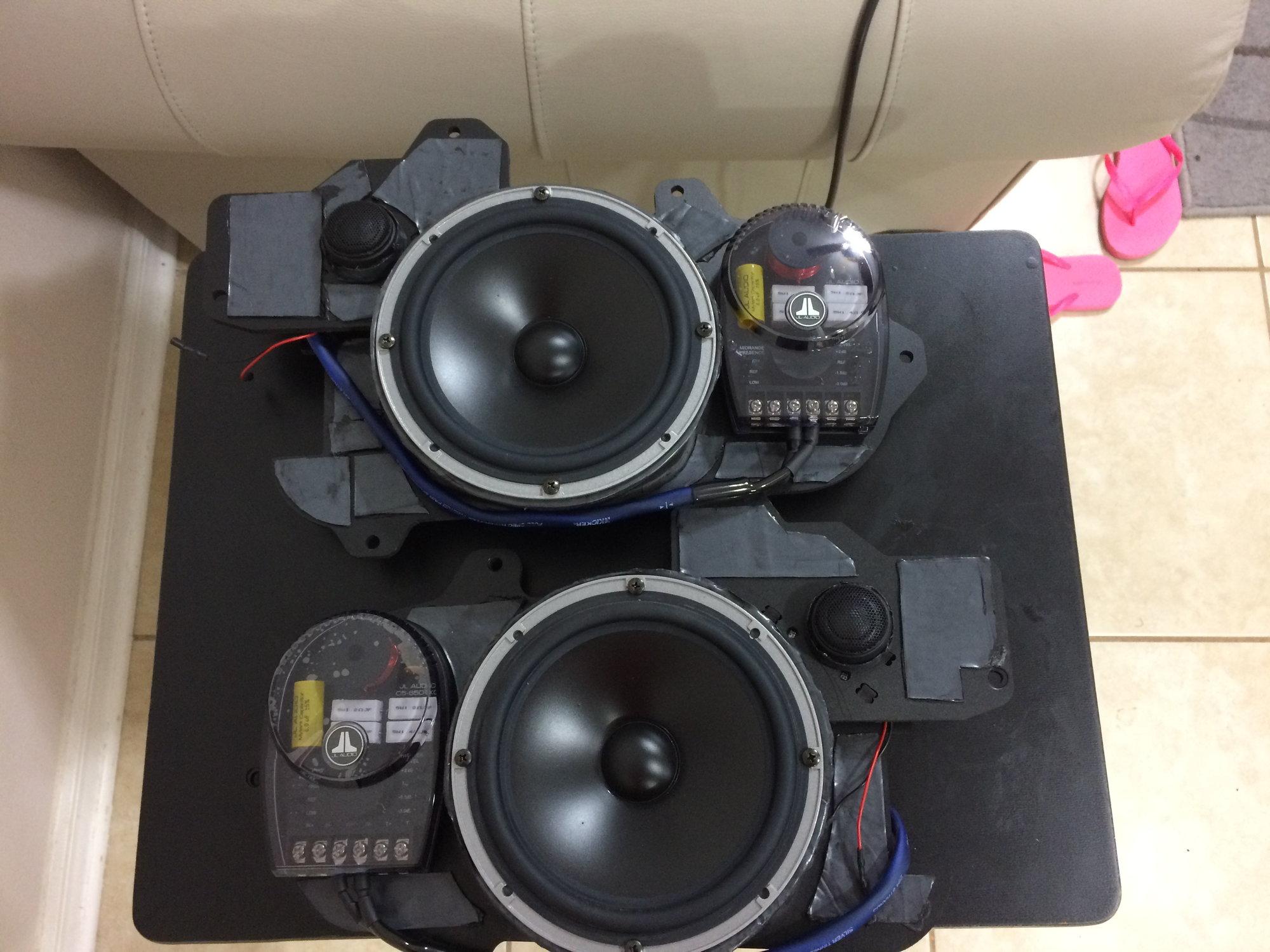 Car Speaker Adapters Gap Between Adapter And Stock Speaker Grill
