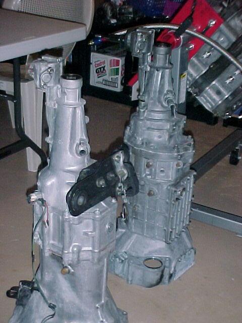 JK40C/CD009 Transmission from 370Z on 13B - RX7Club com - Mazda RX7