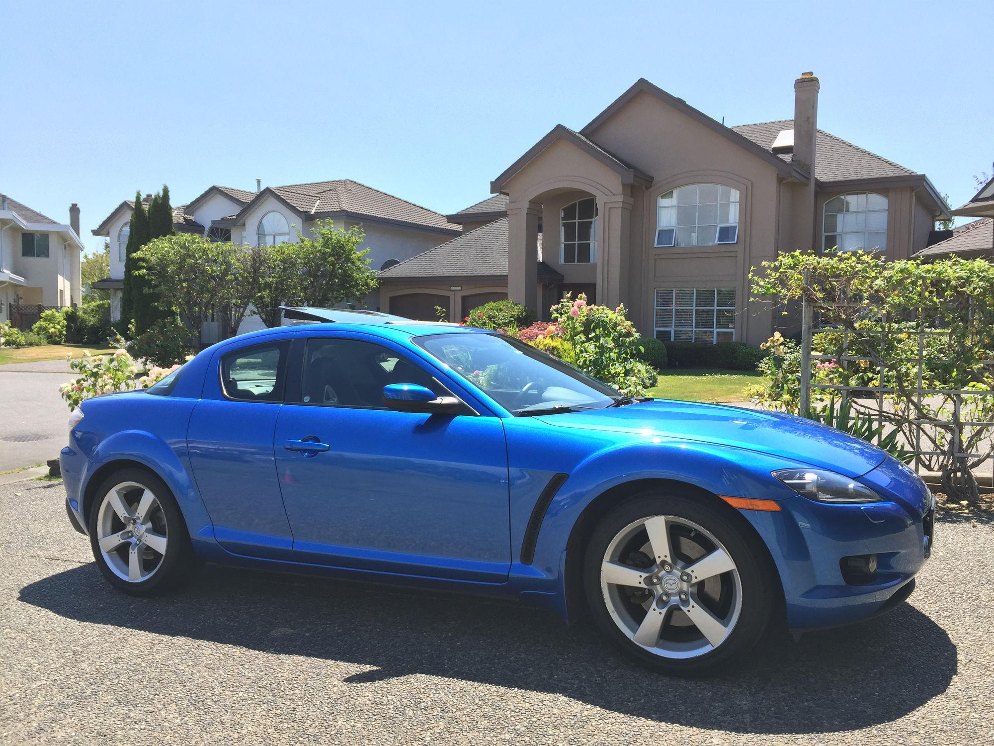 { FS } 2006 Blue Mazda RX8 GT, 6 spd - RX8Club.com