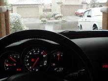 Yea its snowing in Vegas