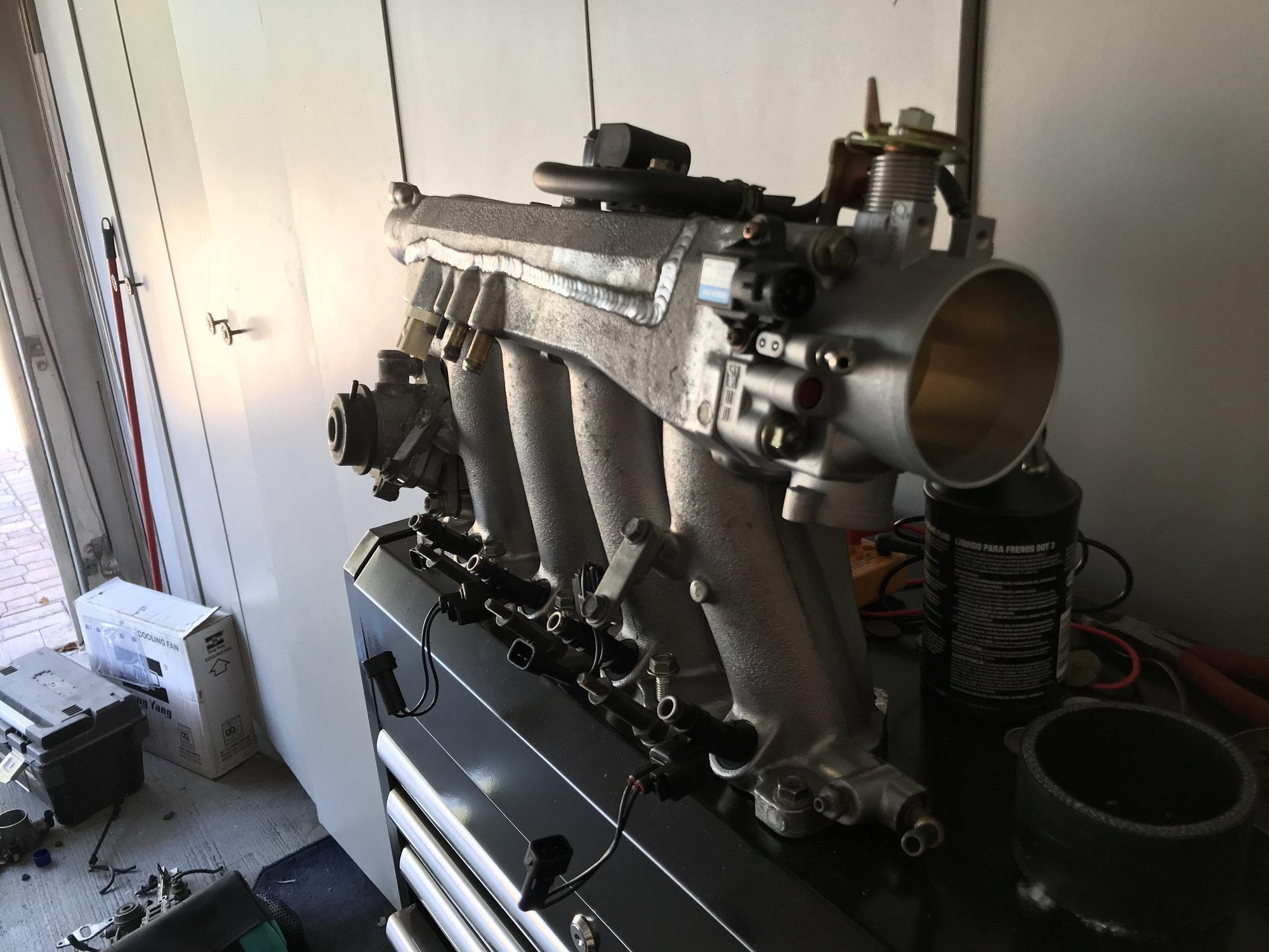 Ported oem intake manifold - S2KI Honda S2000 Forums