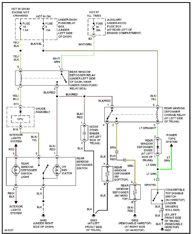 2007 mercedes c230 fuse diagram