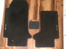 Driver, Passenger and center console Floor Mat