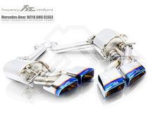 Fi Exhaust for Mercedes-Benz AMG W218 CLS63 - Valvetronic Muffler.