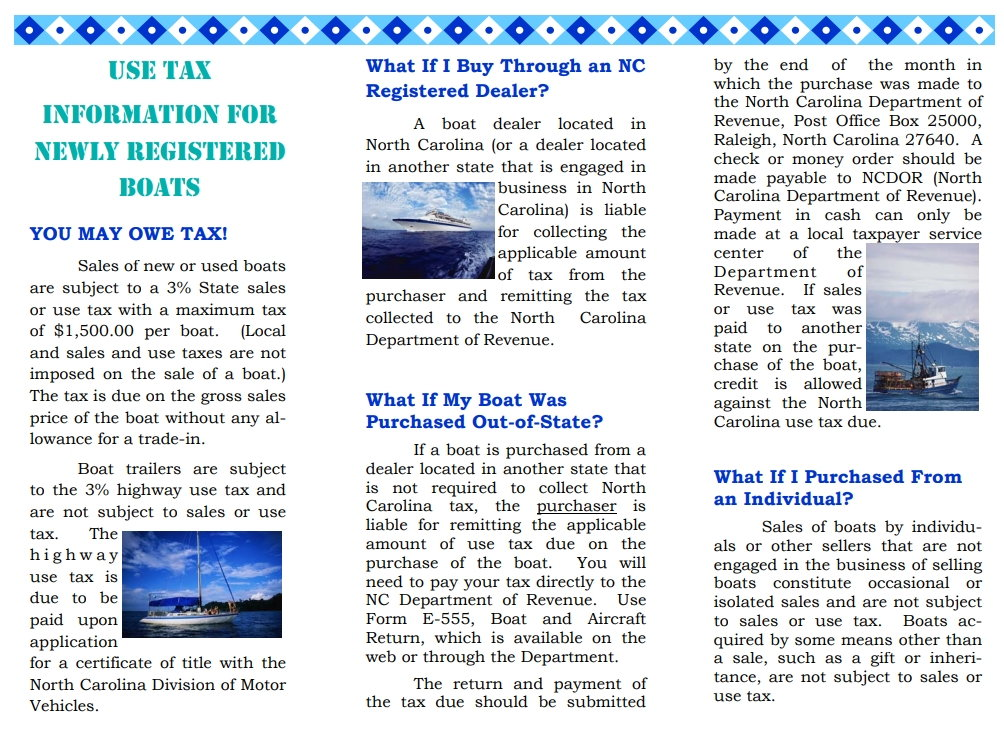 Nc Taxes Used Boat Purchased In Florida The Hull Truth Boating And Fishing Forum