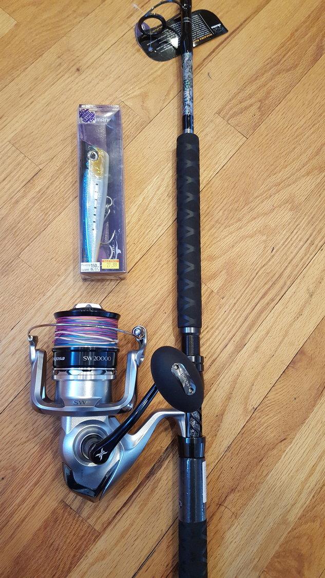 Tuna spinning reels- Saragosa 20000sw, Van Staal VM 275, or