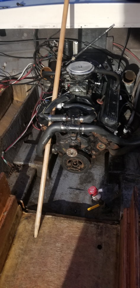 1984 Albemarle 24 Stringer and deck restoration project