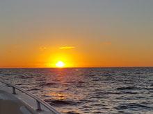 Sunrise on way across
