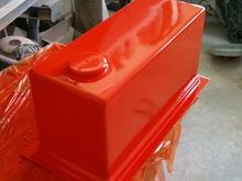Fresh sprayed tooling gel