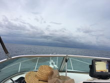 Maybe my rig is to small but this was before the winds hit us , Naples fl from Here was about 21 miles